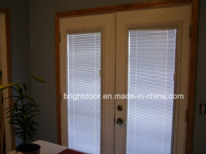 French Patio Doors with Built in Blinds pictures & photos