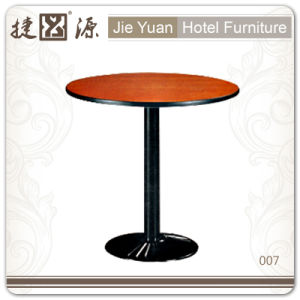 Round Coffee Table Steel Stand Table (007) pictures & photos