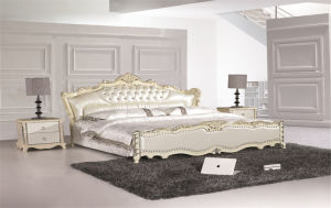 Modern Leather Beroom Bed pictures & photos