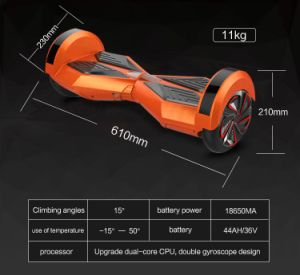 Chinese Smart Self Balance Electric Scooter Hover Board Hoverboard
