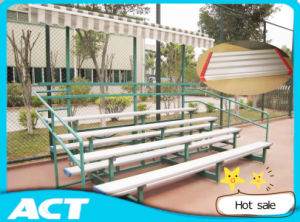 3 Row/ 4 Row Aluminum Indoor / Outdoor Sports Bleachers pictures & photos
