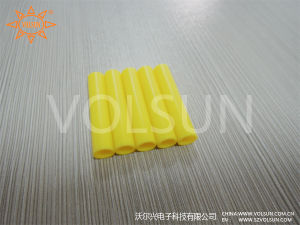 RoHS Electrical Silicon Rubber Tube Hose Yellow pictures & photos