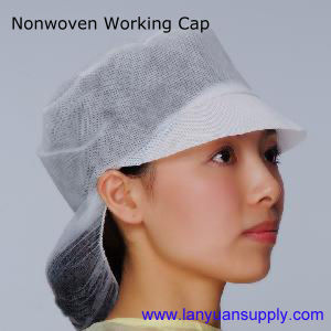 Disposable Nonwoven Working Cap/Snood Cap pictures & photos