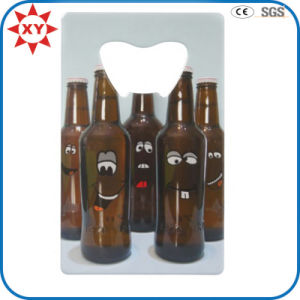 Custom Printing Smile Business Card Bottle Opener pictures & photos