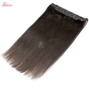 Brazilian Virgin Halo Hair Extension Expression Hair pictures & photos