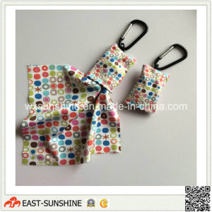 Fashionable Microfiber Clean Cloth with Key Chain (DH-MC0633) pictures & photos