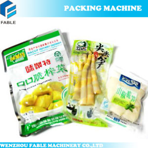 Rotary Pouch Filling and Vacuum Sealing Packing Machine for Meatball pictures & photos