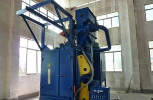 Double Hook Type Airless Shot Blast Cleaning Machine pictures & photos