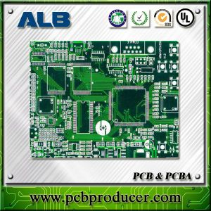 Hot Air Soler Leveling (HASL) Rigid Double Side Printed Circuit Board