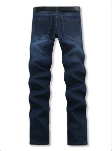 P1173 Winter Men Wear Men Jeans Thick Fleece Trouser Big Yards Jeans Leisure Casual Jeans Straight Men Pants 120cm for Wholesale pictures & photos