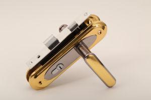 Aluminum Handle Door Handle Lock (DL-004) pictures & photos