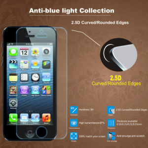 Anti-Blue Tempered Glass Screen Protector for iPhone 6/ 6s pictures & photos