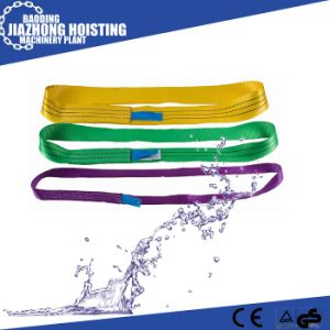 High Quality Single Layer Loop Type Polyester Lifting Webbing Sling pictures & photos
