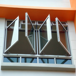 1.4mm Thickness Aluminium Glazing Casement Window (TS-1057) pictures & photos