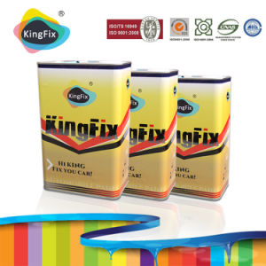 Solid Colors Acrylic Polyurethane Car Repair Paint with High-Performance Thinner pictures & photos
