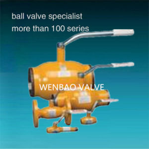 Full Bore Butt Weld Ball Valve pictures & photos