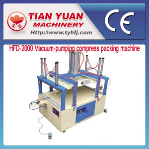Vacuum-Pumping Compress Packing Machine pictures & photos