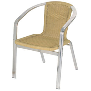High Quality Aluminum Wicker Chair DC-06211 pictures & photos