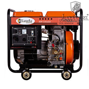 Popular Model 5kVA Open Type Diesel Generator for Ethiopia pictures & photos