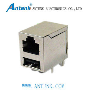 RJ45 Ethernet Transformer With Modular Shielded Jack pictures & photos