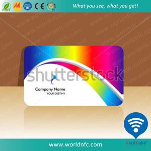 High Frequency 13.56MHz PVC Plus 2k Contactless RFID Smart Card pictures & photos