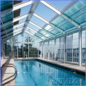Best Price Polycarbonate Panel for Swimming Pool Cover pictures & photos