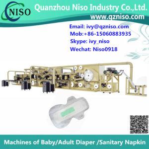 China Semi-Servo Feminine Pads Machine Manufacture (HY400) pictures & photos