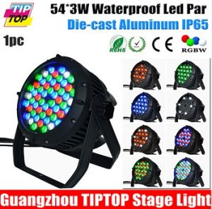 54 X 3W RGBW Waterproof LED PAR Light