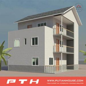 Single-Deck Luxury Light Steel Villa Prefab House pictures & photos