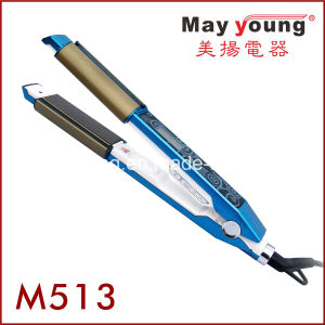 Hot Sell Mch Heater 2 in 1 Hair Flat Iron Hair Curler Hair Straightener pictures & photos