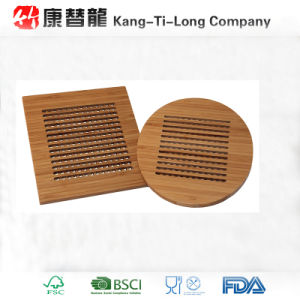 Eco Friendly Bamboo Lattice Trivets