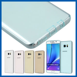 Slim Transparent Gel TPU Case Cover for Samsung Note 5 pictures & photos