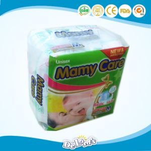 Plastic PE Film Backsheet Baby Diapers with Magic Tape pictures & photos