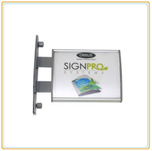 Aluminium Wall Bracket Sign/Wall Projected Sign pictures & photos