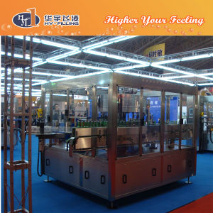 Hy-Filling Glass Rotary Adhesive Glue Labeler Machine pictures & photos