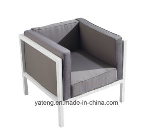 Euro-Design Comfortable Outdoor Garden Aluminum Furniture Sofa Set with Single & Double Seat 100% Waterproof (YT957) pictures & photos