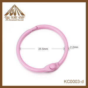 Fashion Nice Quality Popular Metal Pink Binder Rings for Office Use pictures & photos