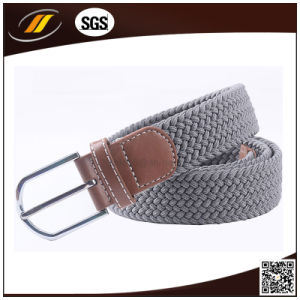 Wholesale Stretch Braided Elatic Woven Belt with Pin Buckle Buckle pictures & photos
