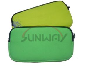 Hot Sale Neoprene Pencil Bag with Zipper (PP0030) pictures & photos