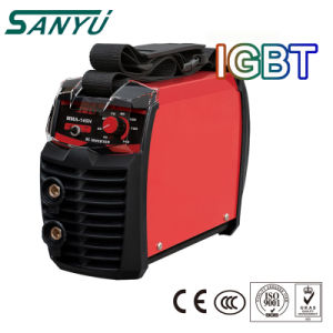 Sanyu MMA Mini Welding Machine with IGBT Inverter pictures & photos