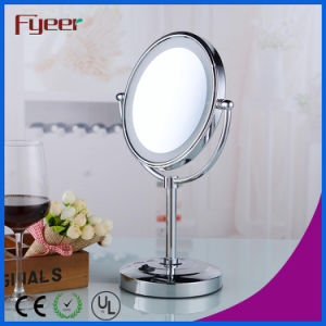 Fyeer Makeup Mirror Bathroom DC Power LED Table Mirror pictures & photos