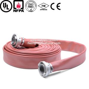 Export-Oriented PVC Lined Fabric Durable Fire Flexible Hose pictures & photos