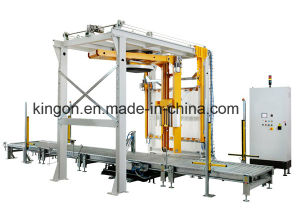 Rotary Arm Wrap/Wrapping Machine with Top Plate & Top Sheet Dispenser pictures & photos