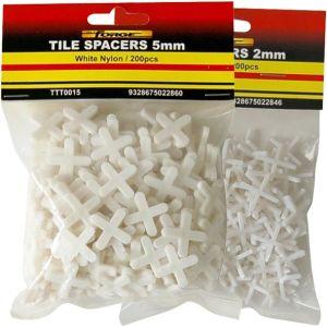 Construction Building Part Plastic Crossed Shape Tile Spacers White pictures & photos