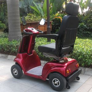 Four Wheel Electric Disabled Mobility Scooter with CE (DL24500-2) pictures & photos