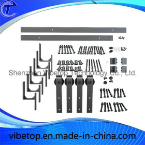 Wooden / Glass Door Sliding Track Hardware Fittings (BD-07) pictures & photos