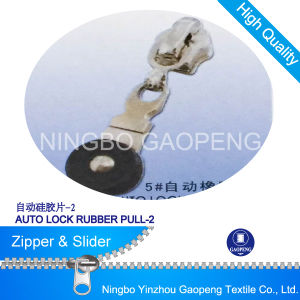 Rubber Pull Slider for Clothing/Garment/Shoes/Bag/Case pictures & photos