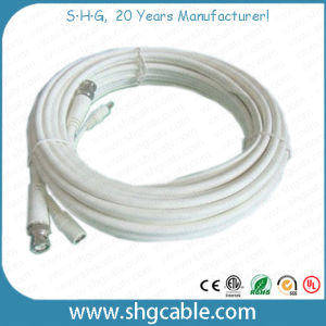 Coaxial Cable 3c2V with BNC and DC Connector pictures & photos