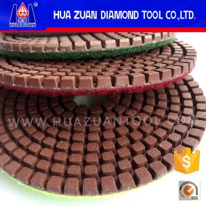 "4""Copper Resin Bond Polishing Pad pictures & photos"