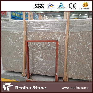 Beautiful Beige Marble Slab Stone for Project pictures & photos